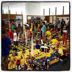 LEGO City in Crown Hall