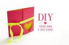 Looking for something sweet to make a loved one for Valentine's Day? Taken or single, follow our step-by-step DIY to make the cutest V-Day card for your best girlfriend or your special guy! What you'll need: • 3 sheets of craft paper (different colors or shades) • Draw and cut out 2 hearts to use; […]