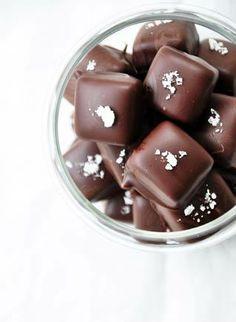 ... salted butter caramels ...