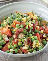 salad, corn recipes, black eyed peas, side dish, cooking tips, bacon recip, sweet corn, comfort foods, corn succotash