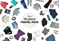 An Aesthetic Adventure | Travel packing, 19 pieces into 40 outfits for a 64 day trip to Europe