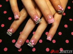 Only the prints, these nails otherwise look horrible, way too wide and square.
