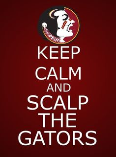 Florida State!!! Yes! Lol