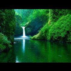 punj bul waterfall, Soacha, Colombia — by Fahime Afshar. This waterfall is amazing.