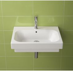 """View the Bissonnet 26000 Universal Flex 19-7/10"""" Bathroom Sink Single Hole with Overflow at Build.com."""