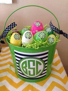 Easter Egg Monograms, Monogram stickers, personalized stickers, monogram labels Easter labels Easter Easter Basket Eggs Personalized Egg,Egg...