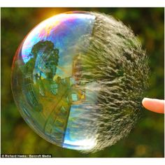 High speed photography - Bursting Bubble