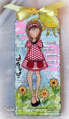 Denas Stamping Corner: Two More Prima Doll Tags
