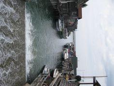 Fish Town at Leland, MI