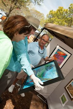 Art in the Park is held periodically in Myrtle Beach from spring through fall, with wide assortment of art and wares.