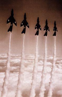 Black Arrows Hawker Hunters