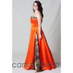 'Camo Bridesmaid Dress...I can't even begin.... lol'  why?????