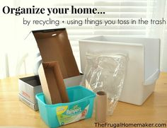 Organize your home b
