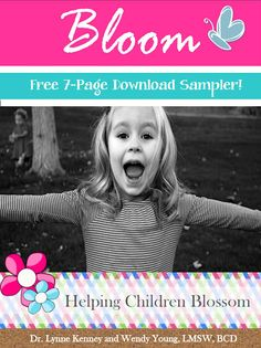 7-page #printable sampler of #Bloom by @Kidlutions and @drlynnekenney