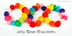 Jelly Bean Bracelets DIY