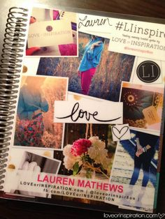 LOVEorINSPIRATION.com Erin Condren Notebook #LIblog