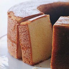 Elvis Presley's Favorite Pound Cake — Recipe from Epicurious