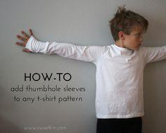 SweetKM: The Thumbhole Sleeve T-Shirt Experiment