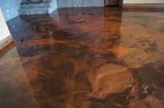 concret stain, stain floor