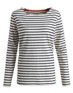 I'll be sporting this Joules Womens Striped Jersey Top, Creme Stripe -- a classic Breton top --  on Saturday at BritMums Live, thanks to Joules, which is supplying my outfit. It's incredibly soft and classically chic.
