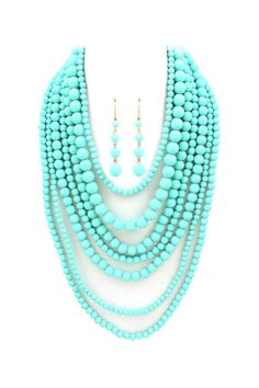 Turquoise Elizabeth Necklace Set
