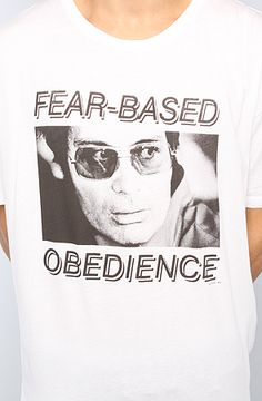 Jim Jones Fear-Based Obedience The Boyt 6 Tee in White by Comune (S)