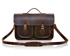 Executive Brown double twin pocket
