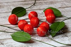 Quilled Cherries Tutorial - Step 4