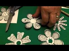 ▶ Holiday Ornaments with Zentangle® - YouTube