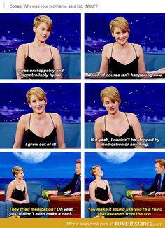 A Medicated Jennifer Lawrence