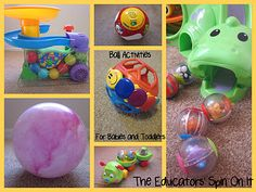 Ball Activities for Babies and Toddlers