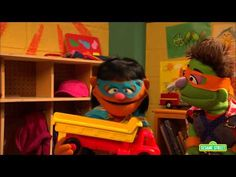 Elmo wants to play action heroes with some of his classmates, but they only have three costumes. Together with his teacher, Elmo finds a strategy to solve his problem. For more information check out: http://www.sesamestreet.org/challenges.