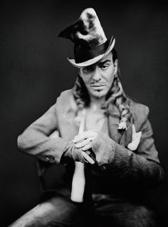 John Galliano, 2006. Photo: Paolo Roversi.