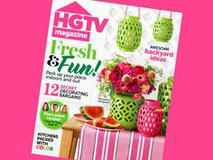 What's inside the July/August issue of #hgtvmagazine http://blog.hgtv.com/design/2014/06/10/whats-new-the-julyaugust-issue-of-hgtv-magazine/?soc=pinterest