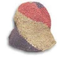Earth Divas – Hemp Hat-Floppy Three Color Spiral    Earth Divas sells fair trade and natural fiber products made by women villagers from around the world.  This hemp hat is made from hemp that has been hand-cut, hand-softened, hand-brushed and then hand-spun into fabric.
