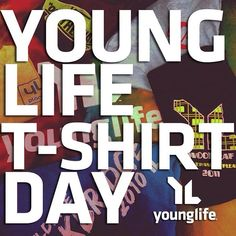 This Monday, October 14th, is Young Life T-Shirt Day! Wear your favorite Young Life shirt and show it off using #yltshirtday! Want extra credit? Share the story of your shirt with #yltshirtstory and the Young Life Store @younglifestore could hook you up with free gear!