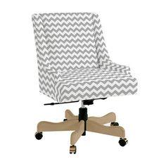 I like this chevron desk chair.
