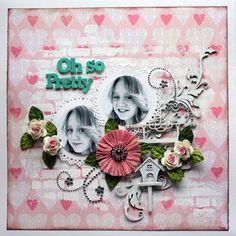 Oh so pretty *C'est Magnifique* - Scrapbook.com