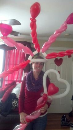 Valentine Princess balloons