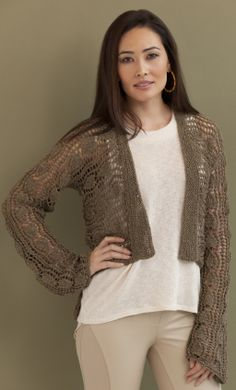 Stacey Hi-Lo Cardigan in NINA http://tahkistacycharles.com/t/pattern_single?products_id=2217