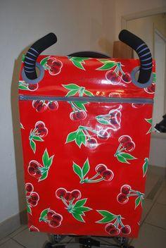 sacs à poussette en toile enduite