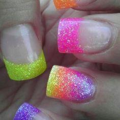 Fun summer nails!