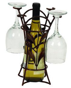 Vineyard Glass & Wine Rack <3