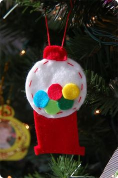 homemade christmas ornaments   homemade ornament post