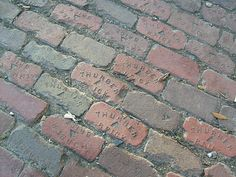 Thurber Bricks were used to pave Camp Bowie Boulevard in Fort Worth