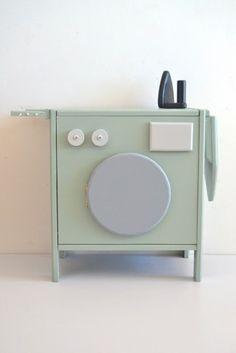#wasmachine #Washer #Toy #Kitchens | Macarena Bilbao