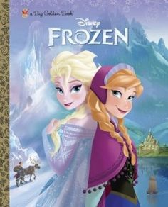 Disney Frozen Big Golden Book (A Big Golden Book) #disneyfrozen #disneyfrozenelsa #disneyfrozenanna #disneyfrozenolaf #disneyfrozenkristoff #disneyfrozensven