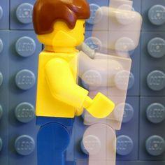 Epic Album Covers Recreated In LEGO