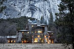 Ahwahnee Hotel - Yosemite National Park, CA Legend says that the ghost of Mary Curry Tressider, a woman instrumental in The Ahwahnee Hotel's development who passed in 1970, haunts her old apartment on the California hotel's sixth floor. On the third floor, experiences are more high-level. In 1962, President John F. Kennedy stayed here during a visit to Yosemite. By special request, hotel staff placed a rocking chair in his room, a way for the president to relieve chronic backpain.