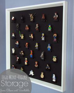 Clean & Scentsible: Lego Mini-Figure Storage